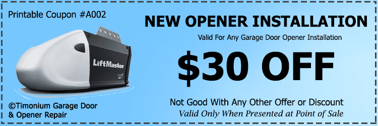 Timonium-Coupon--Garage-Door-Opener-Installation